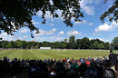 Seventeen wickets fell in the day at Chesterfield, Derbyshire v Yorkshire, 1st day Chesterfield, July 18, 2012