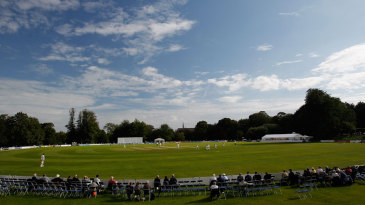 The sun eventually came out at Arundel