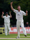 Callum Thorp took two wickets towards the end of day two, Sussex v Durham, County Championship, Arundel, July, 19, 2012