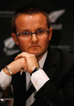 Mike Hesson has been named New Zealand's new head coach, Auckland, July 20, 2012