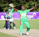 Elias Sunny lets out an appeal, Ireland v Bangladesh, 2nd T20, Belfast, July 20, 2012
