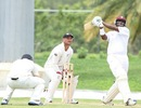Narsingh Deonarine enroute to his century, West Indies Cricket Board President's XI v New Zealanders, Day two, Antigua, July 21, 2012