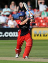 Stephen Moore struck seven boundaries in his 60, Leicestershire v Lancashire, CB40 Group A, Grace Road, July, 22, 2012