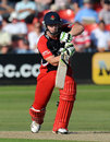 Steven Croft saw Lancashire home with an unbeaten 57, Leicestershire v Lancashire, CB40 Group A, Grace Road, July, 22, 2012