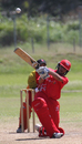 Kinchit Shah smashes a six over mid-wicket against Brisbane/Gold Coast at the Air Niugini Super Series 2012 T20 in Port Moresby