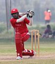 Mudassar Hussain batting against PNG during the Air Niugini Super Series 2012 T20 in Port Moresby