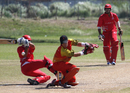Kinchit Shah got some unorthodox runs against Brisbane/Gold Coast at the Air Niugini Super Series T20 in Port Moresby