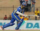 Upul Tharanga scored an unbeaten half-century, Sri Lanka v India, 2nd ODI Hambantota, July 24, 2012