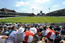 A full house enjoys the cricket, England v South Africa, 1st Investec Test, July 23, 2012