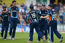 Yorkshire celebrate reaching their first T20 Finals Day, Yorkshire v Worcestershire, FLt20 quarter-final, Headingley, July 25, 2012