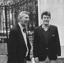 MCC head coach Don Wilson with Paul Crump, a 16-year-old accepted into a training programme, Lord's, April 27, 1982