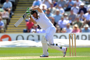 AB de Villiers found form with a half-century, Worcestershire v South Africans, Tour Match, New Road, 1st day, July, 27, 2012