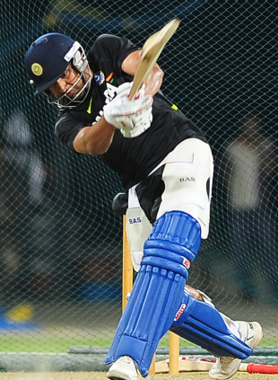 Rohit Sharma, who is going through a lean patch, was batting