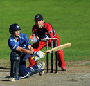 Ian Cockbain gave Gloucestershire a chance with a half-century, Lancashire v Gloucestershire, CB40, Old Trafford, July 30, 2012