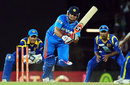 Suresh Raina scored his third half-century of the series