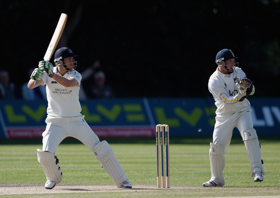 Dawid Malan scored his first hundred of the season