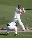 Short leg takes evasive action as Luke Wright pulls, Sussex v Worcestershire, County Championship, Division One, Hove, August 2, 2012
