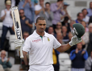 Alviro Petersen reaches his fourth Test hundred, England v South Africa, 2nd Investec Test, Headingley, 1st day, August 2, 2012