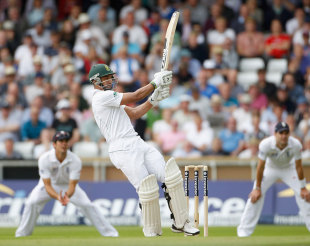 Alviro Petersen went past 150 on the second morning, England v South Africa, 2nd Investec Test, Headingley, 2nd day, August 3, 2012