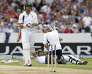 Alviro Petersen suffered from cramp during his long innings