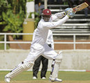 Marlon Samuels made his first home Test century