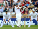 James Taylor pulls during his gutsy innings