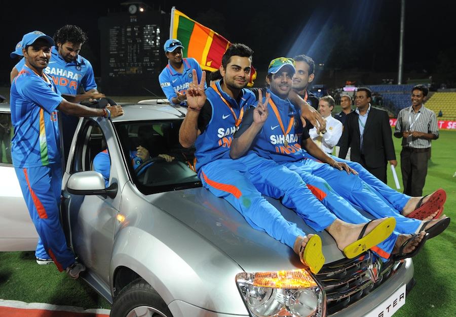 Virat Kohli Was Named The Player Of The Series Photo Sri Lanka V