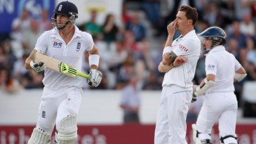 Kevin Pietersen's onslaught put South Africa on the back foot