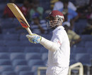 Marlon Samuels acknowledges his fifty