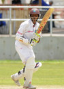 Shivnarine Chanderpaul was unbeaten on 43, West Indies v New Zealand, 2nd Test, Kingston, 4th day, August 5, 2012