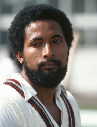 Andy Roberts during the World Cup semi-final, Pakistan v West Indies, 2nd semi-final, World Cup, June 20, 1979