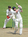 Paul Collingwood goes over the top on his way to 78