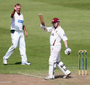 Niall O'Brien scored 70 opening the batting for Northants