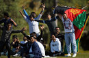 Afghanistan fans cheer their team on at the U-19 World Cup, Pakistan v Afghanistan, ICC U-19 World Cup 2012, Buderim, August 11, 2012
