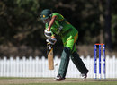 Babar Azam top scored for Pakistan U-19s, Pakistan v Afghanistan, ICC U-19 World Cup 2012, Buderim, August 11, 2012