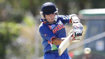 Smit Patel top-scored for India with 51