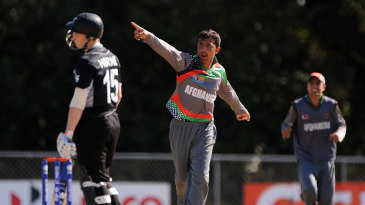 Sayed Shirzad picked up four top-order wickets