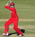 Malcolm Lake hits one through the off side, India v Zimbabwe, Group C, ICC Under-19 World Cup, Townsville, Aug 14, 2012