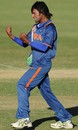 Kamal Passi reacts after taking a wicket, India v Zimbabwe, Group C, ICC Under-19 World Cup, Townsville, Aug 14, 2012