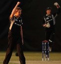 Matthew Quinn celebrates a wicket, Afghanistan v New Zealand, Group B, ICC Under-19 World Cup, Buderim, Aug 14, 2012