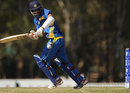 Pulina Tharanga remained unbeaten on 50, Sri Lanka v South Africa, Group D, ICC Under-19 World Cup 2012, Brisbane, August 15, 2012