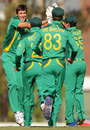 Corné Dry picked up 4 for 16, Sri Lanka v South Africa, Group D, ICC Under-19 World Cup 2012, Brisbane, August 15, 2012