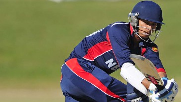 Rahul Vishwakarma top-scored for Nepal with 32