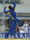 Tharindu Kaushal registered Sri Lanka's best bowling figures with 3 for 28, South Africa v Sri Lanka, Group D, ICC Under-19 World Cup, Brisbane, August 15, 2012