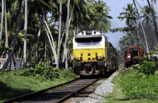 Trains are a comfortable way travel to Hambantota or Kandy from Colombo