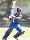 Vijay Zol plays a pull, India v Papua New Guinea, Group C, ICC Under-19 World Cup 2012, Townsville, August 16, 2012