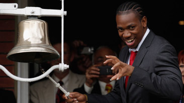Yohan Blake rang the bell on the opening morning