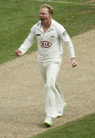 Gareth Batty took 2 for 52, Surrey v Middlesex, County Championship, The Oval, 2nd day, August, 26, 2012