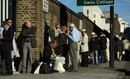 MCC Members queue outside Lord's ahead of the third day, England v South Africa, 3rd Test, Lord's, 3rd day, August, 18, 2012
