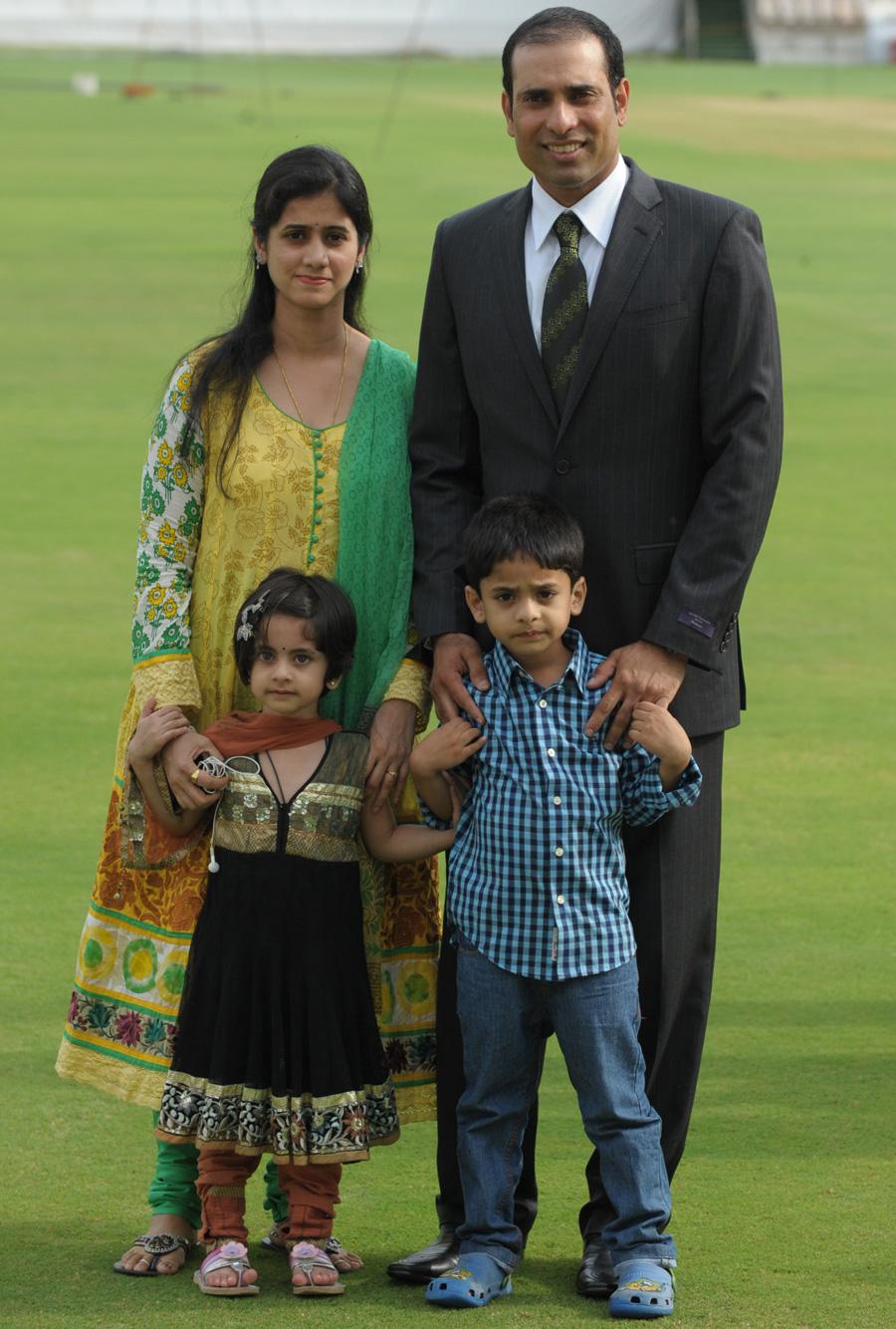 VVS Laxman (Cricketer) family